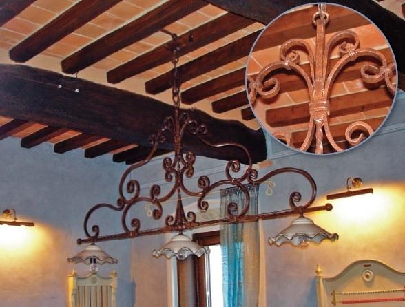 Illuminazione rustica amore per la tradizione italian style