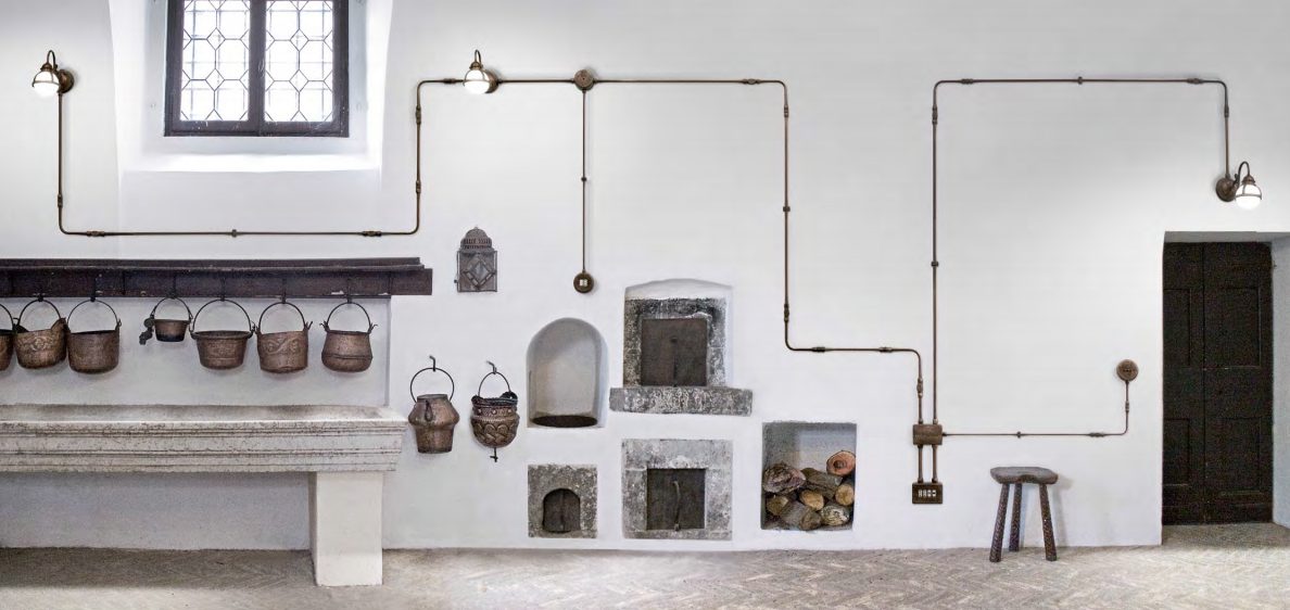 Aldo bernardi impianto a vista italian style shopping - Tubi a vista in casa ...